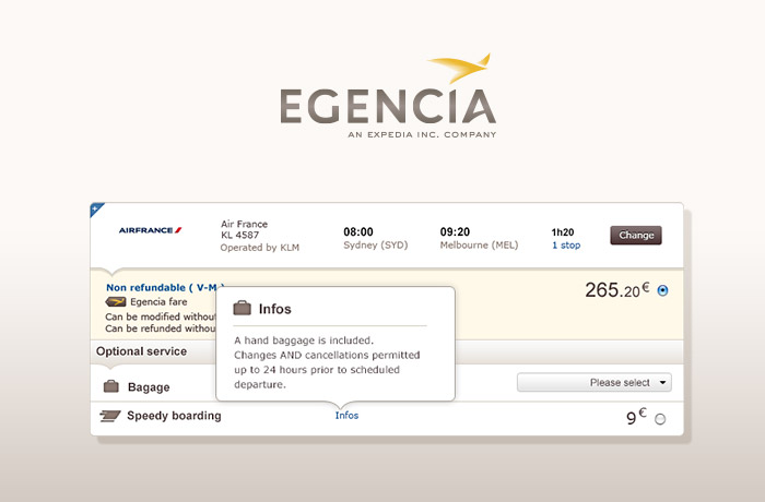 egencia - expedia corporate