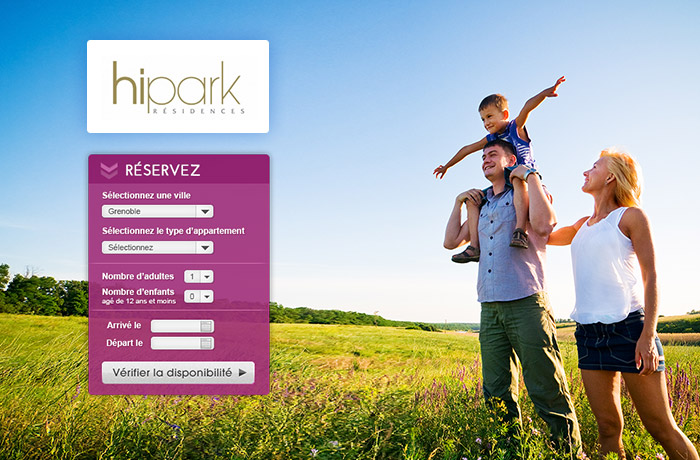 Hipark wordpress